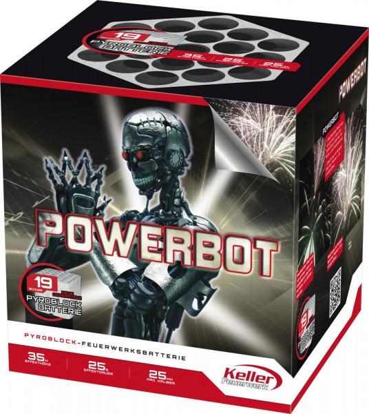 Feuerwerk Powerbot von Keller online kaufen im Feuerwerkshop Funkelfun