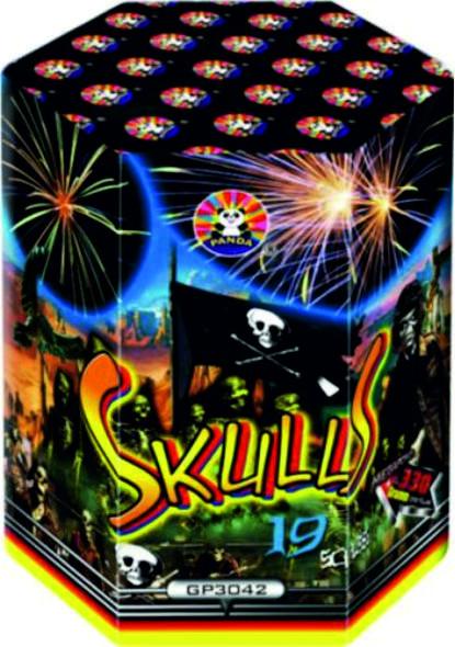 Feuerwerk Skulls von Panda online kaufen im Feuerwerkshop Funkelfun