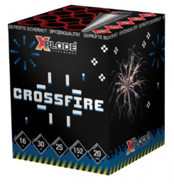 Feuerwerk Crossfire Crossette von Xplode online kaufen im Feuerwerkshop Funkelfun