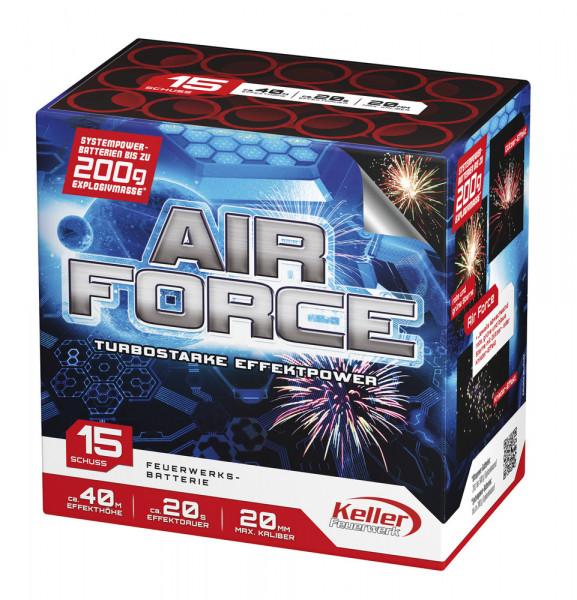 Feuerwerk Air Force von Keller online kaufen im Feuerwerkshop Funkelfun