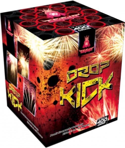 Feuerwerk Dropkick  Rot und Grün Sterne immer mit weißen Blinkern von Gaisha online kaufen im Feuerwerkshop Funkelfun