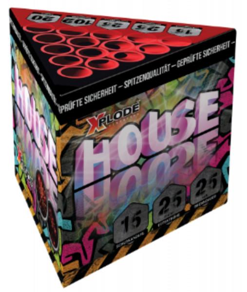Feuerwerk House  15 Schuss von Xplode online kaufen im Feuerwerkshop Funkelfun
