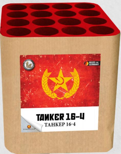 Feuerwerk Tanker 16-4 von Lesli online kaufen im Feuerwerkshop Funkelfun