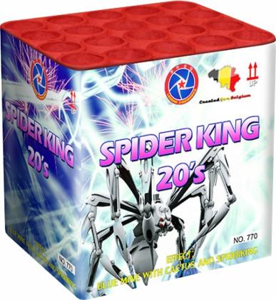 Feuerwerk HEAVY LEGEND SPIDERKING von Rubro online kaufen im Feuerwerkshop Funkelfun