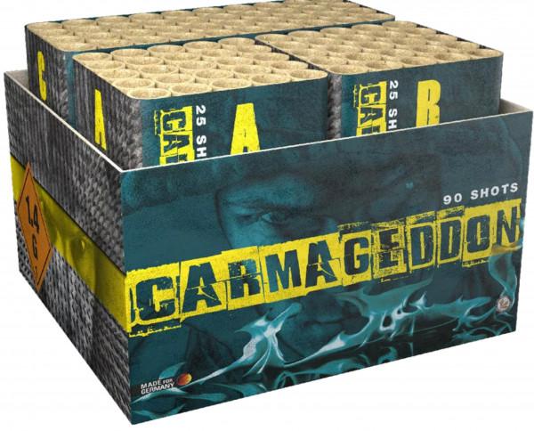 Feuerwerk Carmageddon von Lesli online kaufen im Feuerwerkshop Funkelfun