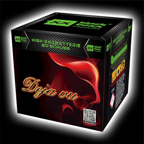 Feuerwerk Deja vu, 20 Schuss Batterie von Blackboxx online kaufen im Feuerwerkshop Funkelfun