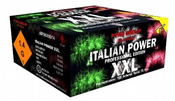 Feuerwerk Italian power XXL von Pyrotrade online kaufen im Feuerwerkshop Funkelfun