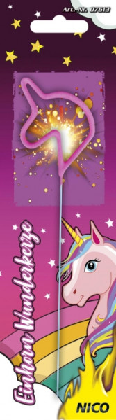 Feuerwerk Wunderkerze Einhorn von NICO online kaufen im Feuerwerkshop Funkelfun