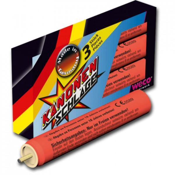 Feuerwerk Kanonenschlag mittel von Weco online kaufen im Feuerwerkshop Funkelfun