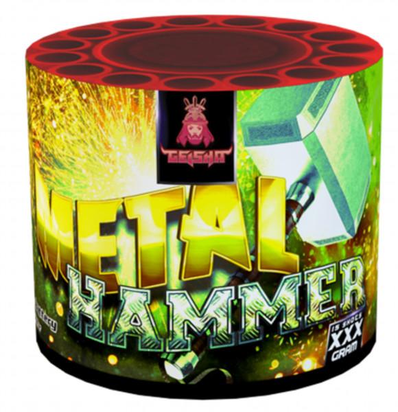 Feuerwerk METAL HAMMER von Gaisha online kaufen im Feuerwerkshop Funkelfun