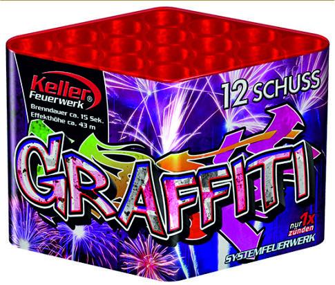 Feuerwerk Graffiti von Keller online kaufen im Feuerwerkshop Funkelfun