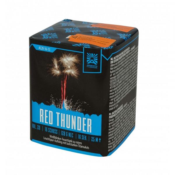 Feuerwerk Red Thunder 1.3G von Funke online kaufen im Feuerwerkshop Funkelfun