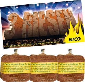 Feuerwerk Kanonenschl. kub.C von NICO online kaufen im Feuerwerkshop Funkelfun