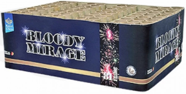Feuerwerk Bloody Mirage 81 Schuss Batterie von Lesli online kaufen im Feuerwerkshop Funkelfun