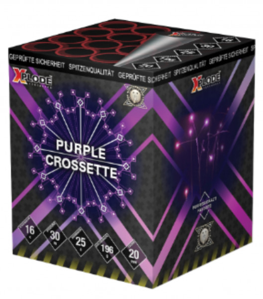 Feuerwerk Purple Crossette von Xplode online kaufen im Feuerwerkshop Funkelfun