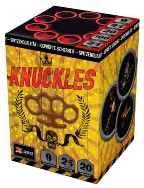 Knuckles 9 Schuss