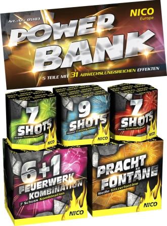 Feuerwerk Power Bank von NICO online kaufen im Feuerwerkshop Funkelfun