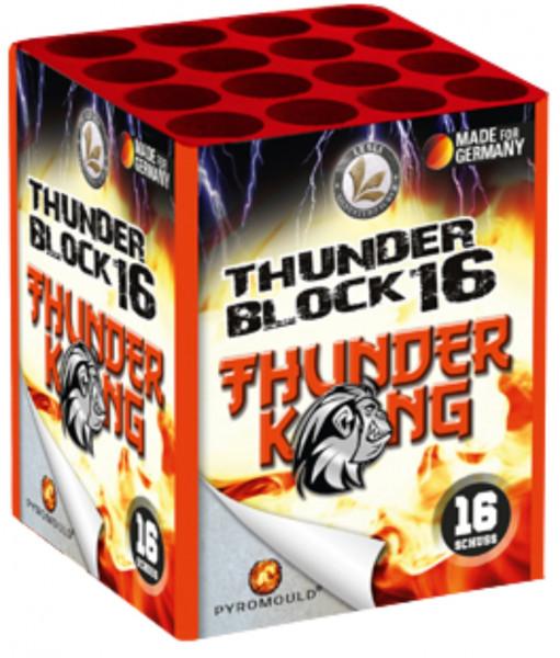 Feuerwerk Thunderblock 16 von Lesli online kaufen im Feuerwerkshop Funkelfun