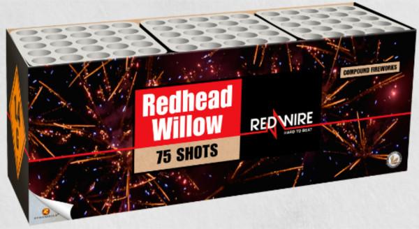Feuerwerk Redhead Willow von Lesli online kaufen im Feuerwerkshop Funkelfun