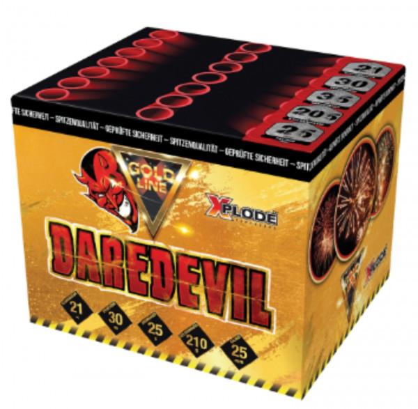 Feuerwerk Dare Devil  /21 Schuss von Xplode online kaufen im Feuerwerkshop Funkelfun