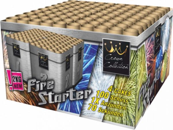 Feuerwerk Fire Starter 100 Schuss 30m von Broekhoff online kaufen im Feuerwerkshop Funkelfun