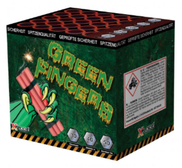 Feuerwerk Green Fingers Batterie 40 Schuss  von Xplode online kaufen im Feuerwerkshop Funkelfun