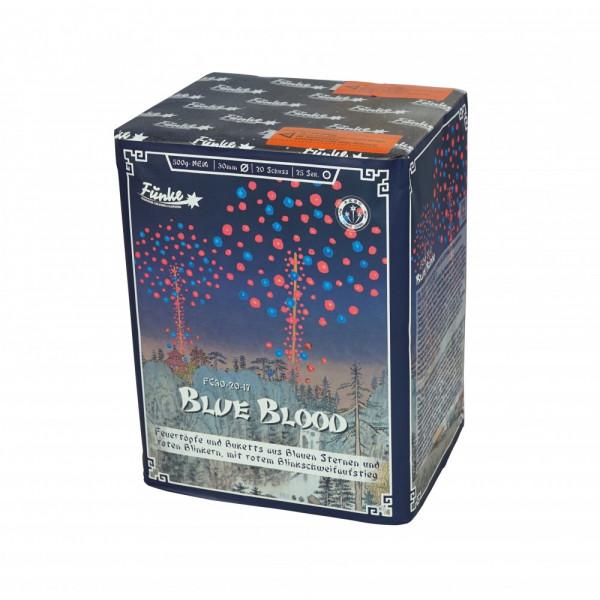 Feuerwerk Blue Blood von Funke online kaufen im Feuerwerkshop Funkelfun