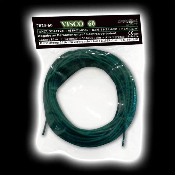 Feuerwerk VISCO 60 - Anzündlitze grün 60 s/m, 10m Rolle  von Blackboxx online kaufen im Feuerwerkshop Funkelfun