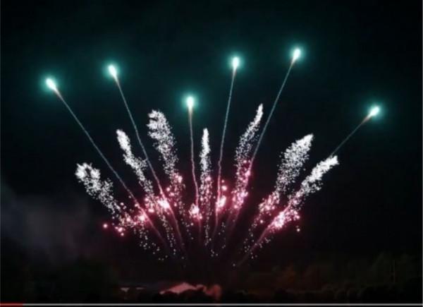 Feuerwerk Silver whirl red strobe mine aqua tail von Pyrotrade online kaufen im Feuerwerkshop Funkelfun