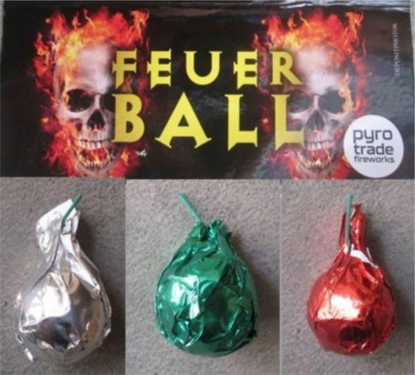 Feuerwerk Feuerball von Pyrotrade online kaufen im Feuerwerkshop Funkelfun