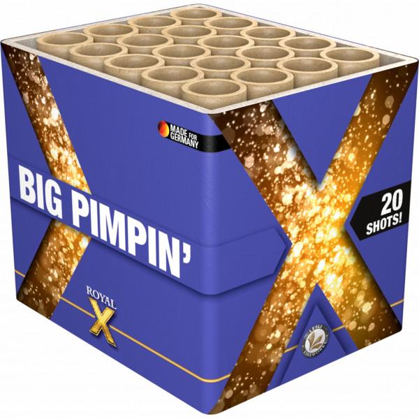 Feuerwerk Big Pimpin' von Lesli online kaufen im Feuerwerkshop Funkelfun