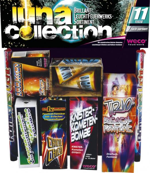 Feuerwerk Luna Collection, 11-tlg. Leuchtsortiment von Weco online kaufen im Feuerwerkshop Funkelfun