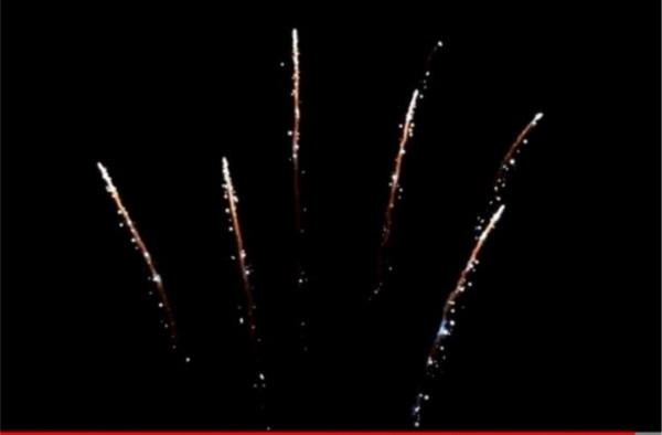 Feuerwerk White Strobe Tails 25er von Pyrotrade online kaufen im Feuerwerkshop Funkelfun