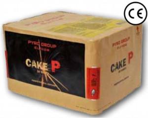 Feuerwerk Cake P von Pyrotrade online kaufen im Feuerwerkshop Funkelfun