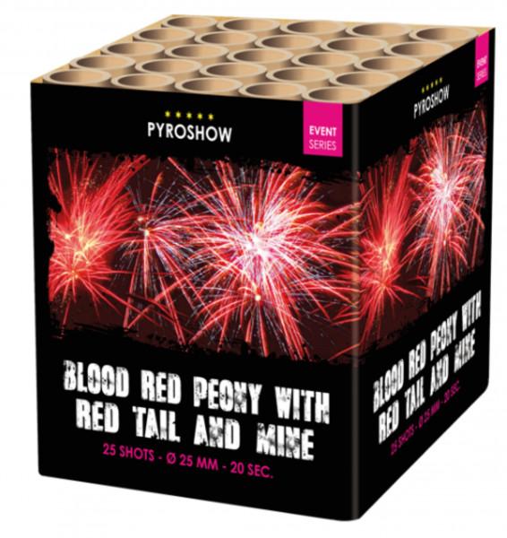Feuerwerk Blood Red Peony w.Red Tail and Mine von Broekhoff online kaufen im Feuerwerkshop Funkelfun