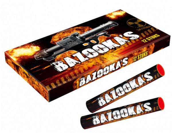 Feuerwerk Bazooka's von Broekhoff online kaufen im Feuerwerkshop Funkelfun