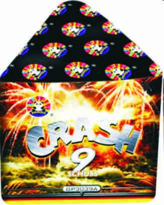 Feuerwerk Crash von Panda online kaufen im Feuerwerkshop Funkelfun