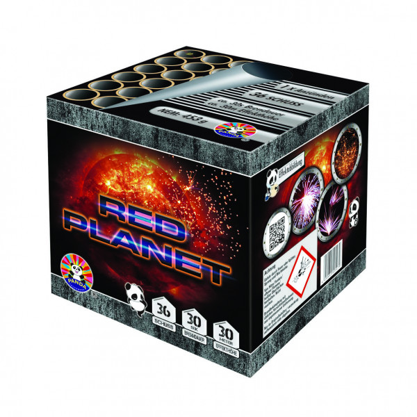 Feuerwerk Red Planet von Panda online kaufen im Feuerwerkshop Funkelfun