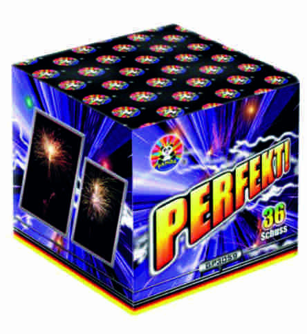 Feuerwerk Perfekt! von Panda online kaufen im Feuerwerkshop Funkelfun