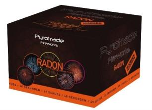 Feuerwerk Radon von Pyrotrade online kaufen im Feuerwerkshop Funkelfun