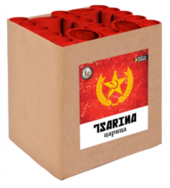 Feuerwerk Tsarina 19-Schuss Fächerbatterie von Lesli online kaufen im Feuerwerkshop Funkelfun
