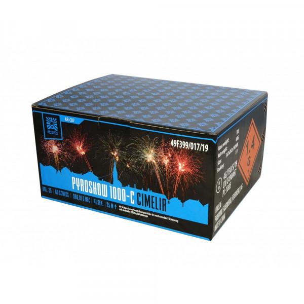 Feuerwerk Pyroshow 1000-C Cimelia von Funke online kaufen im Feuerwerkshop Funkelfun