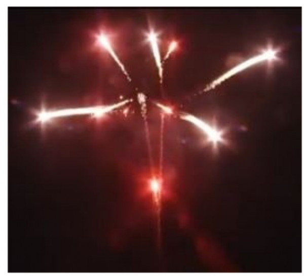 Feuerwerk Red to Silver Crossette von Pyrotrade online kaufen im Feuerwerkshop Funkelfun