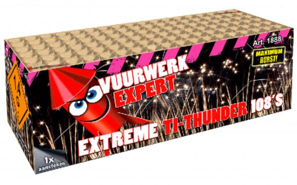 Feuerwerk Extreme TI Thunder von Broekhoff online kaufen im Feuerwerkshop Funkelfun