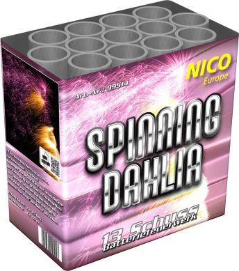 Feuerwerk Spinning Dahlia von NICO online kaufen im Feuerwerkshop Funkelfun