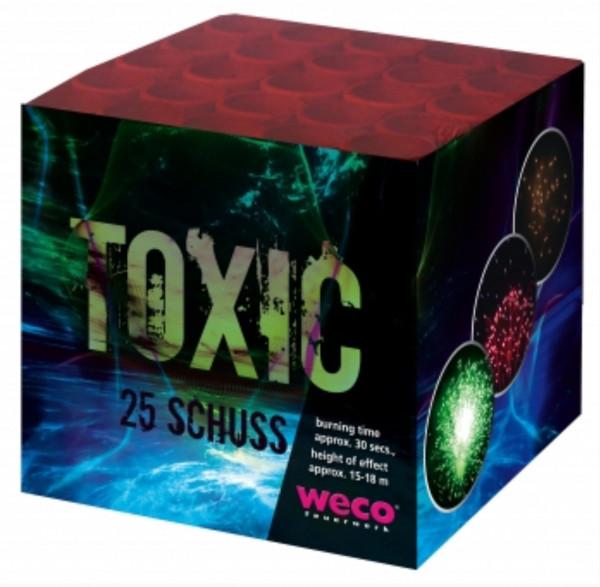 Feuerwerk Toxic von Weco online kaufen im Feuerwerkshop Funkelfun