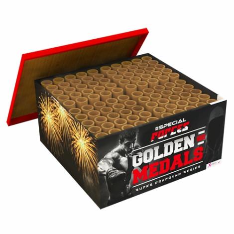 Feuerwerk GOLDEN MEDALS von Rubro online kaufen im Feuerwerkshop Funkelfun