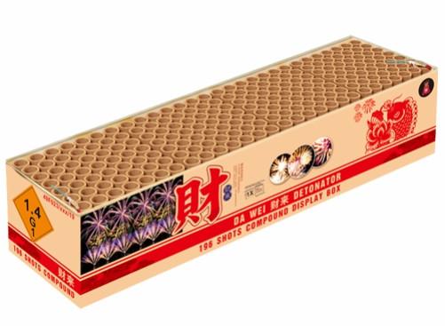 Feuerwerk DA WEI DETONATOR von Gaisha online kaufen im Feuerwerkshop Funkelfun