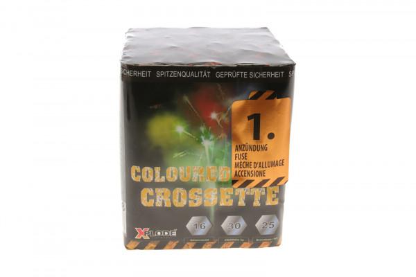 COLOURED CROSSETTE