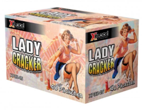 Feuerwerk Lady Cracker 40er von Xplode online kaufen im Feuerwerkshop Funkelfun